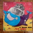 Discos de vinilo: STEVE WARING AVEC ROGER MASON – LA BALEINE BLEUE SELLO: LE CHANT DU MONDE – LDX 74530 . Lote 160593178