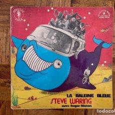 Discos de vinilo: STEVE WARING AVEC ROGER MASON ?– LA BALEINE BLEUE SELLO: LE CHANT DU MONDE ?– LDX 74530 . Lote 160593178