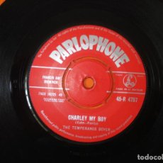 Discos de vinilo: THE TEMPERANCE SEVEN – YOU'RE DRIVING ME CRAZY - CHARLEY MY , PARLOPHONE 1961. Lote 160594610