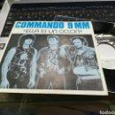 Discos de vinilo: COMMANDO 9 MM SINGLE ELLA ES UN CICLÓN 1988 EN PERFECTO ESTADO. Lote 160598425