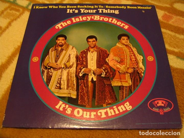 THE ISLEY BROTHERS LP IT´S YOUR OUR THING T-NECK ORIGINAL USA 1968 (Música - Discos - LP Vinilo - Funk, Soul y Black Music)