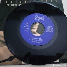 Discos de vinilo: MÁS IMÁGENES ANTONIO VEGA.ESPERANDO NADA.AREA CREATIVA.1991.. Lote 160609834