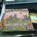 Discos de vinilo: AGAMENON SINGLE PROMOCIONAL TODOS RIEN DE MI 1975. Lote 160611314