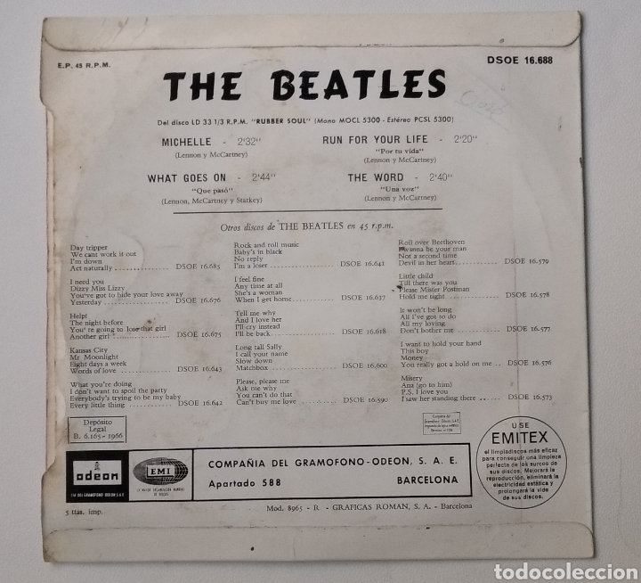 Discos de vinilo: LOTE DE VINILOS THE BEATLES - Foto 22 - 160617182