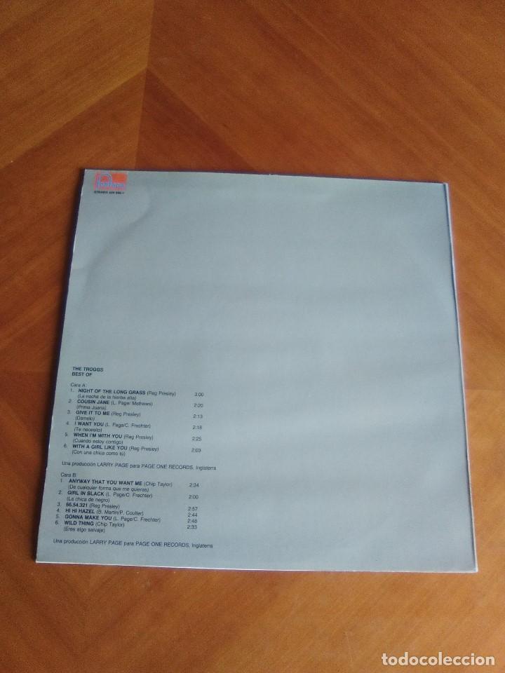 Discos de vinilo: THE TROGGS - BEST OF - LP - FONTANA 1989 SPAIN 424595.1.NUEVO. - Foto 5 - 160617362