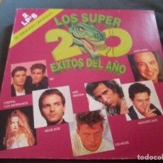 Discos de vinilo: VARIOS --- LOS SUPER 20 EXITOS DEL AÑO (SOLO 1 DISCO). Lote 160624658