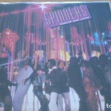 Discos de vinilo: SPINNERS DANCIN´ AND LOVIN´ LP 1979. Lote 160629338