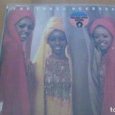 Discos de vinilo: THE THREE DEGREES LP GATEFOLD 1973. Lote 160629522