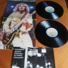 Discos de vinilo: PETER FRAMPTON - FRAMPTON COMES ALIVE!.DOBLE LP ORIGINAL AÑO 1976.UK.SELLO AM. AMLM 63703+ENCARTE. Lote 160631786