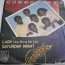 Discos de vinilo: COMMODORES.LADY.SATURDAY NIGHT.MOTOWN.BELTER.1981.. Lote 160647790