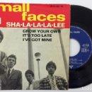 Discos de vinilo: SMALL FACES - SHA-LA-LA-LA-LEE VINILO SINGLE. Lote 160647882