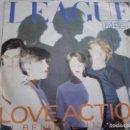 Discos de vinilo: THE HUMAN LEAGUE.LOVE ACTION.RED.VIRGIN.1981.. Lote 160648122