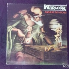 Discos de vinilo: LP WARLOCK, BURNING THE WITCHES, 1984. Lote 160650150