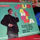 Discos de vinilo: JULIO ALMEDINA MEDIO CARIÑO/CAMINITO DE GUARENA/ESTA NOCHE PAGO YO +1 EP 1964 VERGARA RARO. Lote 160657806