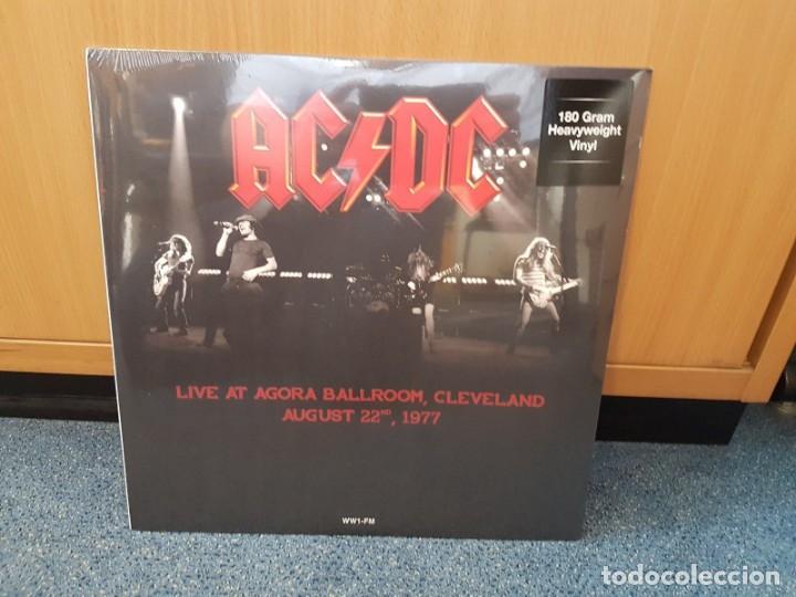 AC/DC - LIVE AT AGORA BALLROOM,CLEVELAND AUGUST 22 1977 (Música - Discos - LP Vinilo - Heavy - Metal)