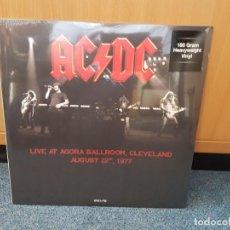 Discos de vinilo: AC/DC - LIVE AT AGORA BALLROOM,CLEVELAND AUGUST 22 1977. Lote 160658950