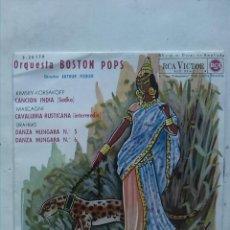 Discos de vinilo: ORQUESTA BOSTON POPS. Lote 160662390