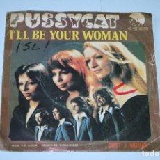 Discos de vinilo: PUSSYCAT *** SINGLE VINILO AÑO 1976 *** EMI ***. Lote 160663474