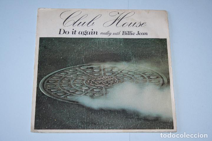 CLUB HOUSE *** SINGLE VINILO AÑO 1983 *** EPIC *** (Música - Discos de Vinilo - Singles - Pop - Rock Extranjero de los 80)
