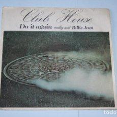 Discos de vinilo: CLUB HOUSE *** SINGLE VINILO AÑO 1983 *** EPIC ***. Lote 160665198