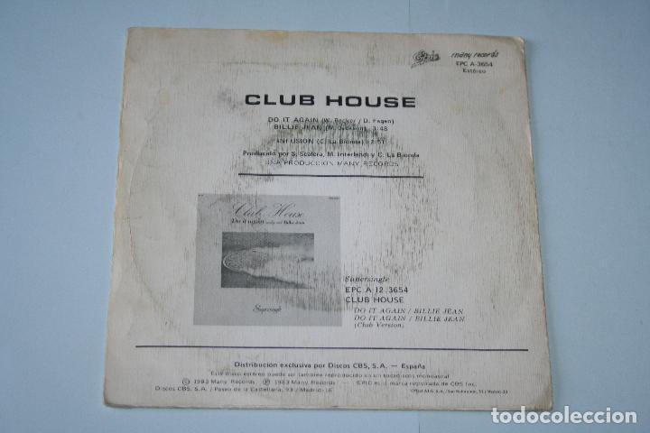 Discos de vinilo: CLUB HOUSE *** SINGLE VINILO AñO 1983 *** EPIC *** - Foto 2 - 160665198