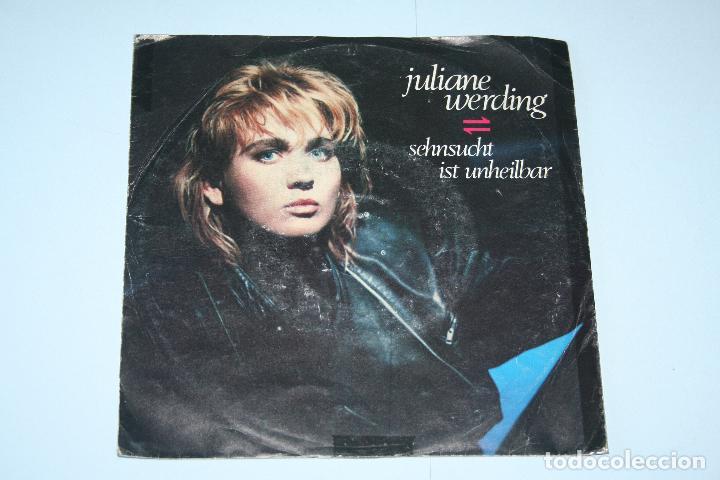 JULIANE WARDING *** SINGLE VINILO AÑO 1986 *** MAMBO WEA *** (Música - Discos de Vinilo - Singles - Pop - Rock Extranjero de los 80)