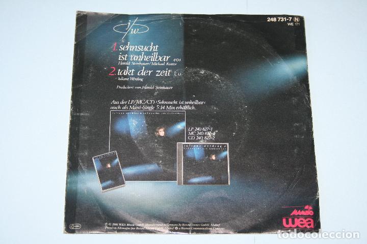 Discos de vinilo: JULIANE WARDING *** SINGLE VINILO AñO 1986 *** MAMBO WEA *** - Foto 2 - 160665590