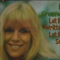 Discos de vinilo: ELLIE GREENWICH LET IT BE . Lote 160668394