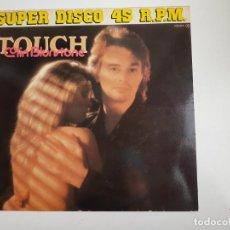 Discos de vinilo: COLIN BLUNSTONE - TOUCH (VINILO). Lote 160668598