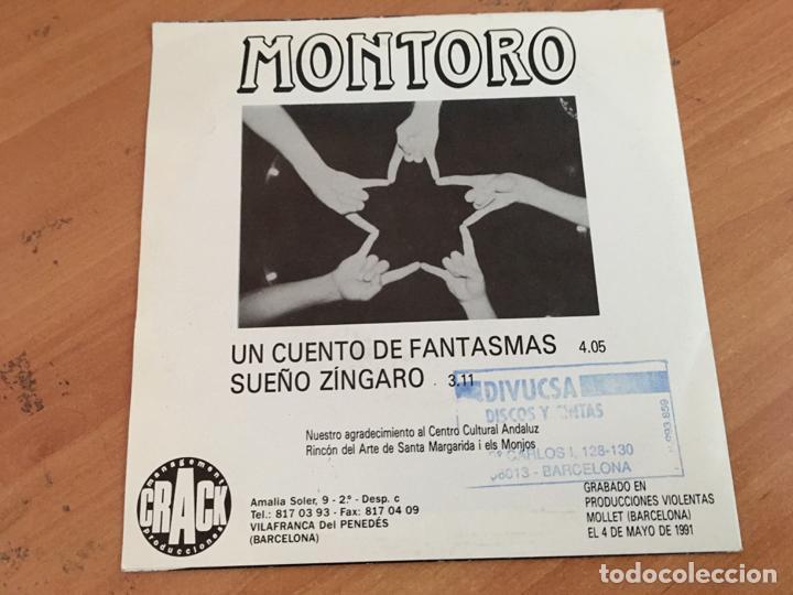 Discos de vinilo: MONTORO (UN CUENTO DE FANTASMAS) SINGLE PROMO (EPI14) - Foto 2 - 160668738