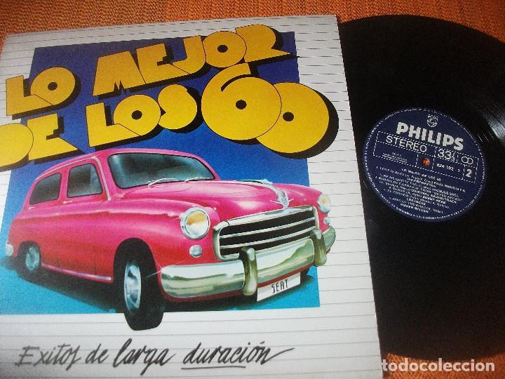 VVAA, LO MEJOR DE LOS 50 SEAT, RAPHAEL, JAQUES BREL, FORMULA V, MIGUEL RIOS (Música - Discos - LP Vinilo - Grupos Españoles 50 y 60)