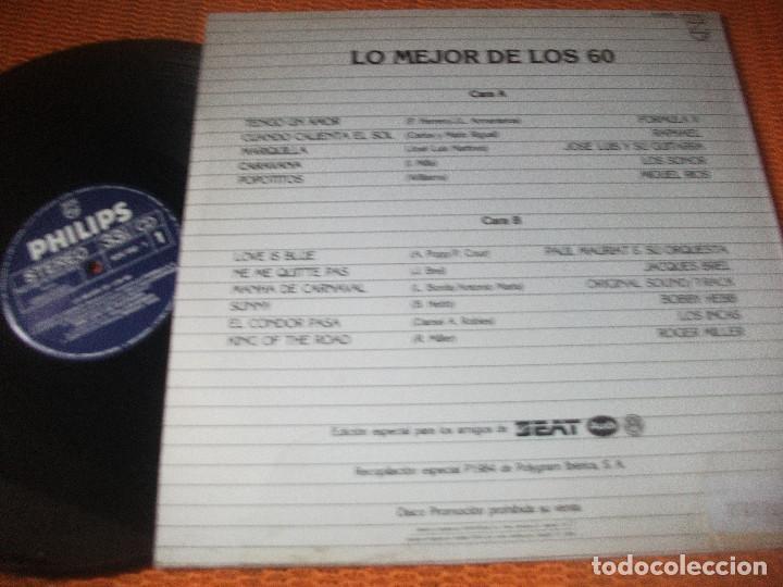 Discos de vinilo: VVAA, LO MEJOR DE LOS 50 SEAT, RAPHAEL, JAQUES BREL, FORMULA V, MIGUEL RIOS - Foto 2 - 160668886
