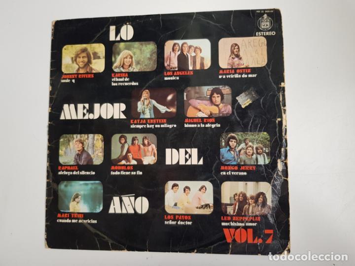 VARIOS - LO MEJOR DEL AÑO VOL. 7 (VINILO) (Música - Discos de Vinilo - Maxi Singles - Pop - Rock Extranjero de los 70)