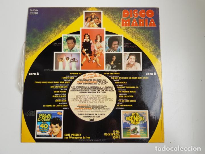 Discos de vinilo: Disco Mania - 16 Artistas Y Exitos Originales (VINILO) - Foto 2 - 160669522