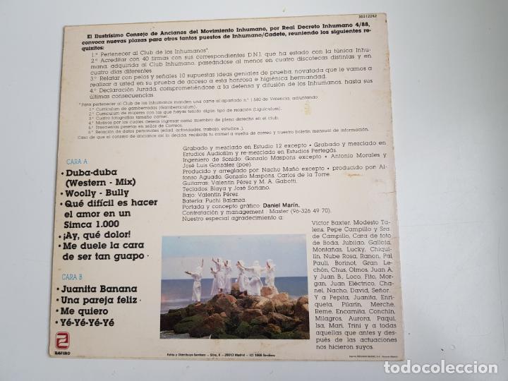 Discos de vinilo: Los inhumanos - 30 hombres solos (VINILO) - Foto 2 - 160669766