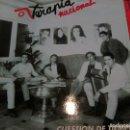 Discos de vinilo: TERAPIA NACIONAL - CUESTION DE TIEMPO (SALAMANDRA, 1993) TIPO HOMBRES G - VRS VENI VEDI VICI. Lote 160670414