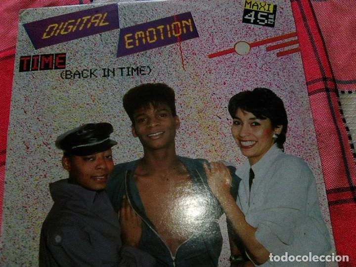 DIGITAL EMOTION - TIME (BACK IN TIME) - VICTORIA, 1985 - ITALO DISCO 80´S - YA ESCASO (Música - Discos de Vinilo - Singles - Pop - Rock Extranjero de los 80)
