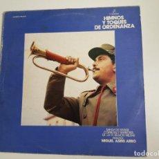 Discos de vinilo: MIGUEL ASINS ARBÓ - HIMNOS Y TOQUES DE ORDENANZA (VINILO). Lote 160670918