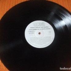 Discos de vinilo: LP PROMO, MADONNA, DONNA SUMMER, RADIO CAPITAL WEA, HECHO EN MEXICO. Lote 160673926