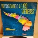 Discos de vinilo: JOSE GUARDIOLA / RECORDANDO A LOS VIENESES / LP - VERGARA-1968 / DIFÍCIL / LEVES MARCAS. **/**. Lote 160682142