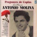 Discos de vinilo: DOBLE LP LO MEJOR DE ANTONIO MOLINA ( PREGONERO DE COPLAS) 24 CANCIONES: SOY MINERO, GRANADA MIA,ETC. Lote 160684414