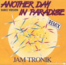 Discos de vinilo: JAMTRONIC - ANOTHER DAY IN PARADISE - MAXI-SINGLE BLANCO Y NEGRO SPAIN 1990. Lote 160686022
