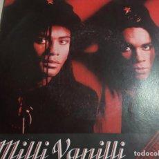 Discos de vinil: MILLI VANILLI.GIRL YOU KNOW IT´S TRUE.AMIGA.1989.GERMANY WEST.. Lote 160689890