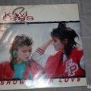 Discos de vinilo: KIWI TESS - SHOW YOUR LOVE . Lote 160700358