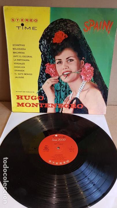HUGO MONTENEGRO / SPAIN / LP - TIME-1963 / MBC. ***/*** (Música - Discos - LP Vinilo - Orquestas)