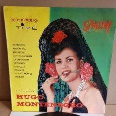 Discos de vinilo: HUGO MONTENEGRO / SPAIN / LP - TIME-1963 / MBC. ***/***. Lote 160704910