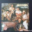 Discos de vinilo: SINGLE JACKSONS, TORTURE, 1984. Lote 160704998