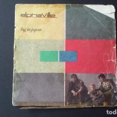 Discos de vinilo: SINGLE ALPHAVILLE, BIG IN JAPAN, 1984. Lote 160706642