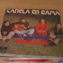 Discos de vinilo: CANELA EN RAMA - JUAN, JUAN, JUAN / NAUFRAGO DE AMOR - RCA-VICTOR SPBO-2029 - 1973 - PROMOCIONAL. Lote 160710134