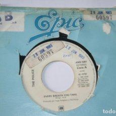 Discos de vinilo: THE POLICE *** SINGLE VINILO AÑO 1983 *** EPIC. Lote 160710138